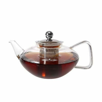 Zuhause - Chin Chai Glass Tea Pot with Stainless Steel Infuser 600ml