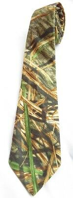 Mossy Oak Neck Tie Shadow Grass Camo Camoflauge
