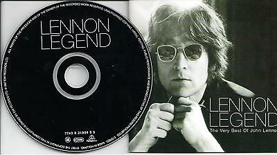 John Lennon ‎– Lennon Legend - The Very Best Of John Lennon, Cd 1997