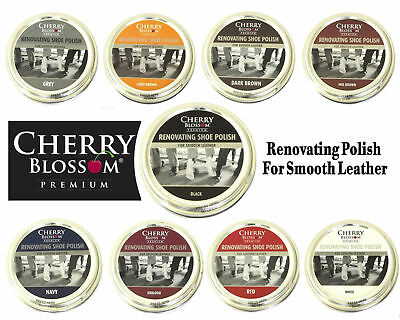 Shoe Renovating polish available in all colours by Cherry Blossom retail £2.45