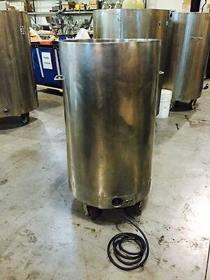 Portable Heating Stainless Steel Tank
