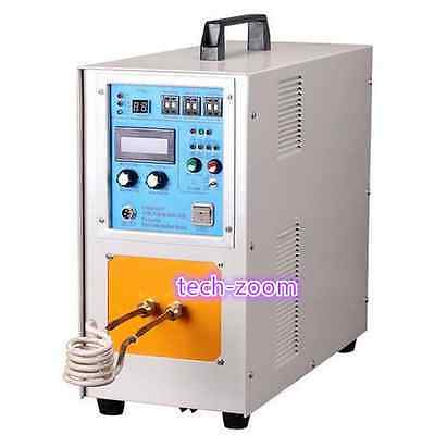 15KW 30-80KHz High Frequency Induction Heater Furnace LH-15A 110/220V FAST SHIP