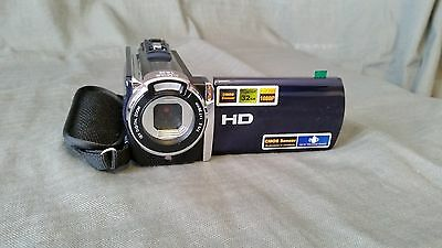 1080p HD Digital Camcorder 16MP 16x ZOOM Black (HDV-612A), DVCAM removable cards