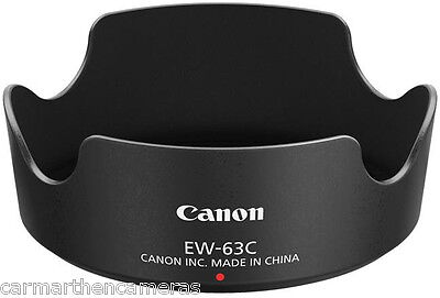 Genuine Canon EW-63C lens hood for EF-S 18-55mm f/3.5-5.6 IS STM