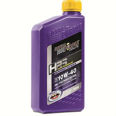 Royal Purple 31140 10W40 HPS High Performance Street Synthetic Motor Oil - 1 Qt