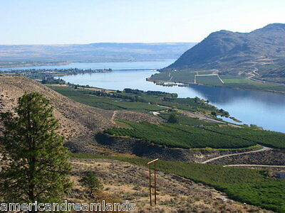 20 ACRES BREWSTER WASHINGTON LEVEL BUILDING SITE LAKE VIEWS MAINTAINED ROAD CASH