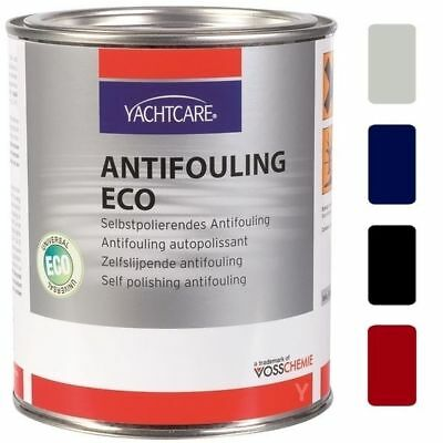 [27,98€/1L] Yachtcare Eco Antifouling 2,5 L mit Farbauswahl, GFK Holz Bootsfarbe