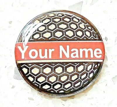 anneys-24mm  GOLF  BALL  MARKER  your OWN PERSONALISED MARKER- 6 to choose from!