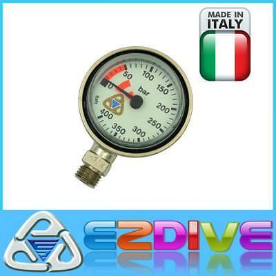 2'' Brass Scuba Diving SPG Tech Diving Pressure Gauge ,  Made In Italy