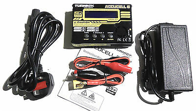 Turnigy Accucel 6 V2 - 50w 6A Balance Charger + Power Supply - LiPo NiMh iMax