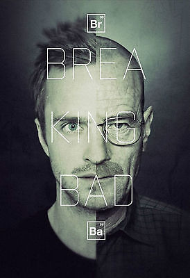 Breaking Bad Movies, Jesse Pinkman, Walter White Poster A0-A1-A2-A3-A4-A5-A6 547