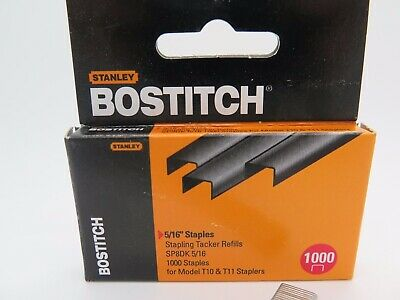 Bostitch Tacker Staples SP8DKJ  5/16 8mm 1000Box SP8DK for T10 & T11