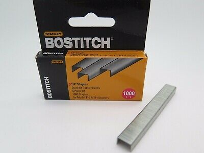 Bostitch Tacker Staples SP6DK 1/4 Inch 6mm 1000Box SP6DK6MM for T10 & T11