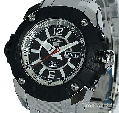 New SEIKO 5 SPORTS MEN'S AUTOMATIC 200m PRO DIVERS SKZ261K1