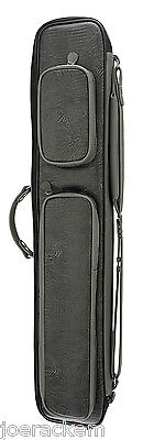 NEW Pro Series LC6G Grey Lizard Embossed Leatherette Case - 4x8 - Soft Sided