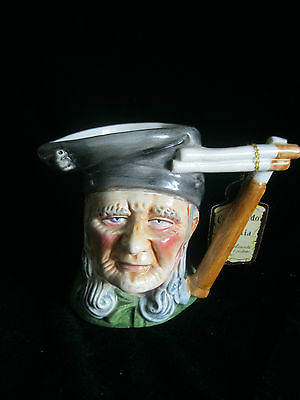 MAGROU Artmark Character TOBY CREAMER  OLD MAN Portugal - HAND MADE & PAINTED