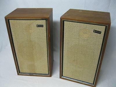 Vintage Pair of Criterion 50A Speakers --------------------------------  Cool!!!