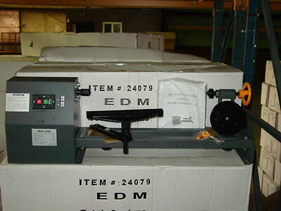 "NEW ELECTRIC WOOD LATHE - BENCH TOP 20"" INDUSTRIAL TOOL"