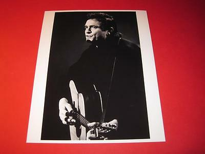 JOHNNY CASH  10x8 inch lab-printed glossy photo P/0739