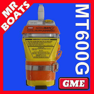 GME MT600G EPIRB ✱ GPS VERSION ✱ 10yr BATTERY 6yr WARRANTY FREE POSTAGE MT 600G