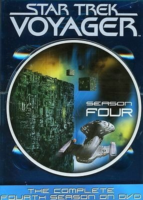 Star Trek: Voyager - The Complete Fourth Season (DVD, 2004, 7-Disc Set)