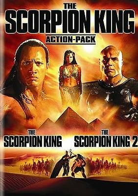 THE SCORPION KING ACTION PACK 1 & 2  - DVD  NEW FACTORY SEALED!