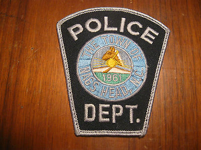 NAGS HEAD NC POLICE PATCH  (HORSE HEAD)