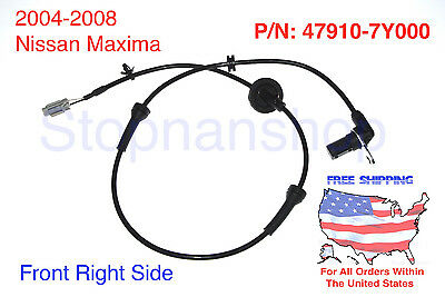 NEW ABS WHEEL SPEED SENSOR fits MAXIMA FRONT RIGHT PASSENGER SIDE RH FR
