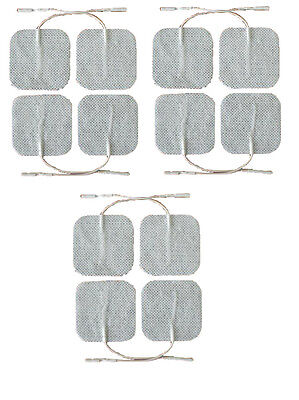 Tens Electrode Pads Self Adhesive Tens Electrodes 5cm x 5cm Pack of 12
