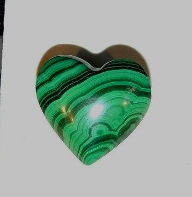 Malachite Heart 21x21mm (8216)