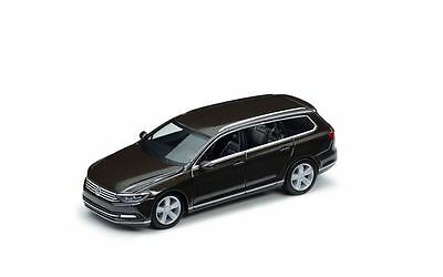 Modellauto 1:87 VW Passat Variant Original black oak brown-metallic Sammlerstüc