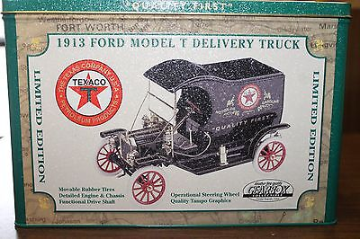 Texaco 1913 Ford Model T Delivery Truck Fine Quality Gearbox Collectible