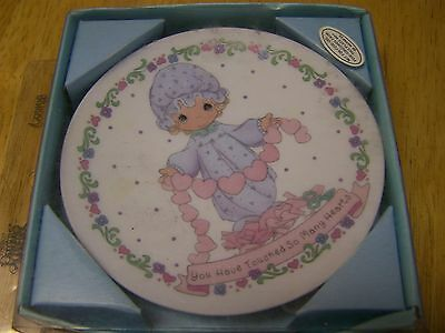 "Precious Moments ""You Have Touched So Many Hearts"" Mini Collector's Plate"