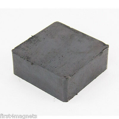 Strong Ferrite Magnet 50x50x 25mm Pull Pack of 108(Condition See Description)