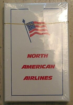 NORTH AMERICAN AIRLINES BRIDGE SIZE DECK OF PLAYING CARDS (SEALED) (NEW)
