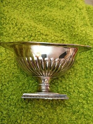 Antique Silver Gravy Boat Made In England Arm And Hammer Marking Very Old Nice