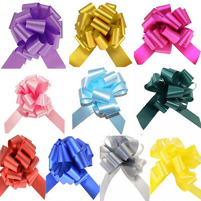 WHOLESALE Large 50mm Pull Bows Ribbon (Pack of 20) Gift Wrap