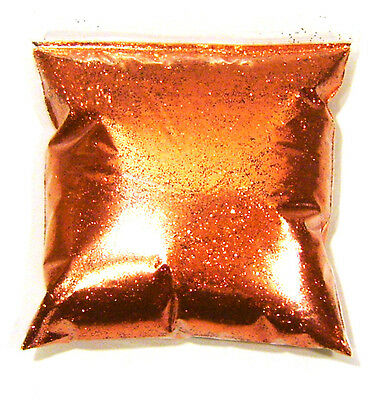 "11oz / 325ml Bright Orange Metal Flake .015"" Auto Paint Additive Flakes LF0711"