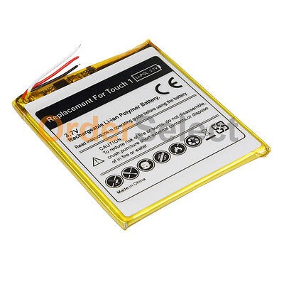 New MP3 Replacement Battery for Apple iPod Touch iTouch 1 1st Gen 8GB 16GB 32GB