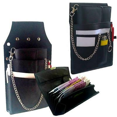 Waiter Waitress Holster Pouch Wallet Bag Leather