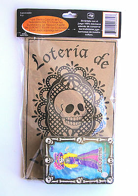 Lot of  10 !  LOTERIA DIA DE MUERTOS   DAY OF THE DEAD     AWESOME!