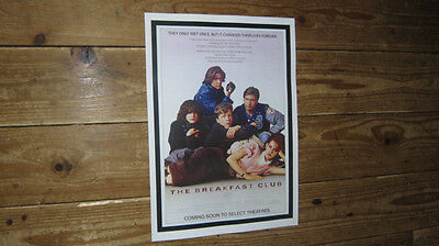 The Breakfast Club Repro Film POSTER