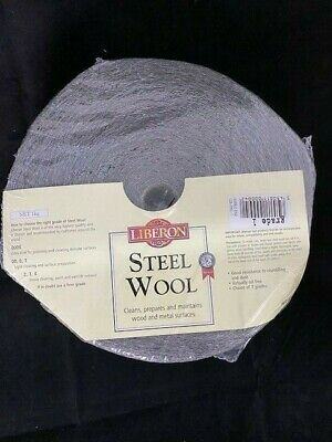 Liberon 1Kg Medium/fine Grade 1 High Quality Steel Wire Wool