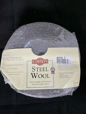 Liberon 1Kg Medium Grade 2 High Quality Steel Wire Wool
