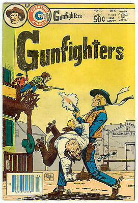 Gunfighters #70 (Charlton 1981, vf 8.0) Lash LaRue, Annie Oakley, Hickok, Earp