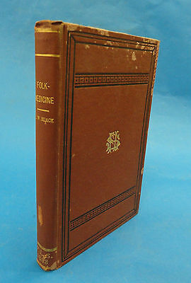 Rare Book 1883 Folk Medicine A Chapter In The History Of Culture William G Black