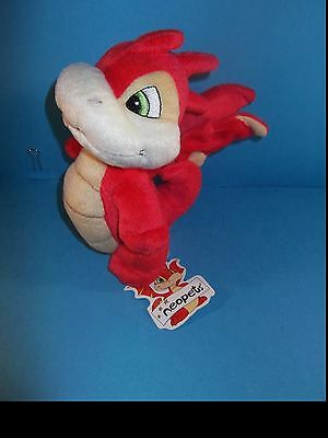 Neopets Scorchio Plush. 7 inches tall
