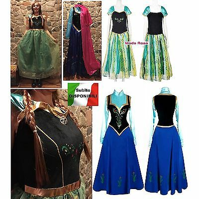 Frozen - Vestiti Carnevale Anna  - Dress up Anna Costumes 6699001-2