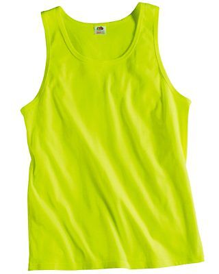 NEW Fruit of the Loom - Heavy Cotton HD™ 100% Tank Top - 39TKR