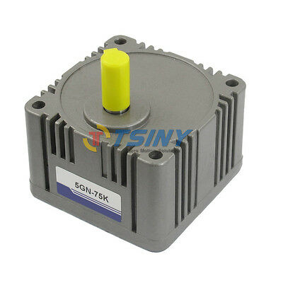 5GN-75K Gear Head Box Speed Reducer Ratio For AC/DC Gear Motor Part